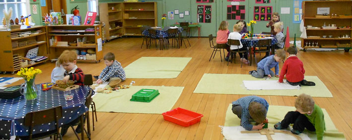 About Us The Montessori Nursery School